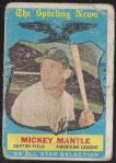 1959 Mickey Mantle (HOF) Topps All-Star Card