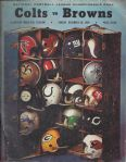 1968 NFL Championship Official Program (Colts vs Browns)