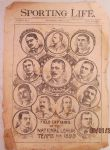1895 Sporting Life Baseball Manager Composite