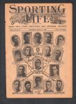 1907 St. Louis Browns Sporting Life Composite