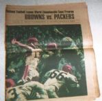 1965 NFL Championship Game (Browns vs Packers) Supplemental Preview Section