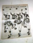 1960s - Best In The (NFL) Big League Quarterbacks Display Page