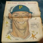 1959 Pittsburgh Pirates (The Pittsburgh Press) All-Star Game Supplemental Section