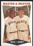 1960 Willie Mays & Bill Rigney - Master & Mentor Topps Card (Better Condition)
