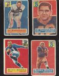 1956 Topps Football Card Lot of (4)