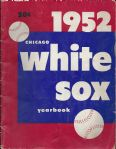 1952 Chicago White Sox Official Yearbook