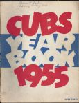 1955 Chicago Cubs Official Yearbook