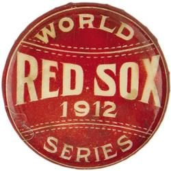 1912 Boston Red Sox World Series Pinback Button