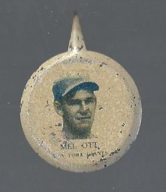 1938 Mel Ott (HOF) Our National Game Button