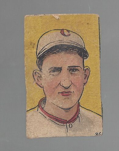 1920's W516 Baseball Strip Card - Slim Sallee - Hand Cut