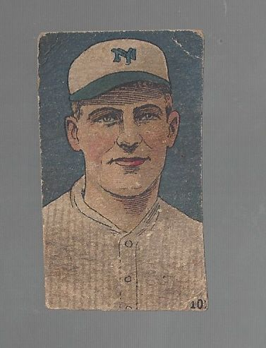 1920's W516 Baseball Strip Card - Pep Young- Hand Cut