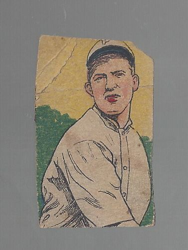 1920's W516 Baseball Strip Card - Grover Cleveland Alexander (HOF) - Hand Cut