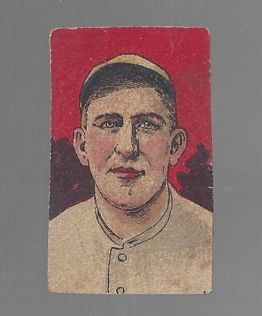 1920's W516 Baseball Strip Card - Roger Peckinpaugh # 2- Hand Cut