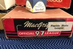 1950s MacGregor Florida State League Empty Baseball (12) Count Box