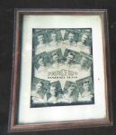 1935 Princeton Baseball Team Composite Framed