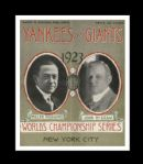 1923 World Series Program at Yankee Stadium