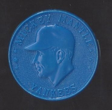 1960 Mickey Mantle Armour Plastic Coin