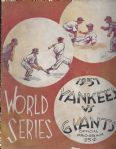 1937 World Series Program (NY Yankees vs. NY Giants)
