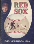 1963 Boston Red Sox Official Yearbook