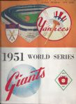 1951 World Series Official Program at the Polo Grounds