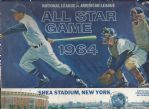 1964 MLB All-Star Game Program at Shea Stadium