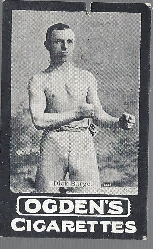 Early 1900's Boxing Cigarette Card