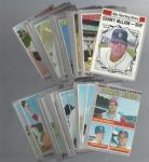 1970 Topps Baseball Cards Big Lot of (58) - Mostly In The Ex Range