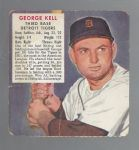 1953 George Kell (HOF) Red Man Tobacco Card Without Tab