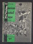 1963 American Football League Guide by The Sporting News