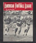 1967 American Football League Guide by The Sporting News