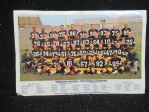 "1962 Green Bay Packers (NFL) World Champions 11"" x 17"" Color Insert"