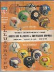 1965 NFL Championship Program - Green Bay Packers (NFL) vs. Cleveland
