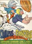 1960 AFL Championship Official Program - Houston Oilers vs LA Chargers