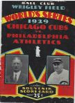 1929 World Series Program (Cubs vs. Athletics) at Wrigley Field