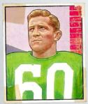 1950 Chuck Bednarik (HOF) Bowman Football Card