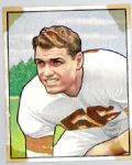 1950 Dante Lavelli (HOF) Bowman Football Card