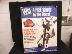 2001 International Basketball League - Trenton Shooting Stars - Stand Up Display Piece