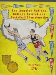 1947 Los Angeles National Collegiate Invitational Basketball Championship Program