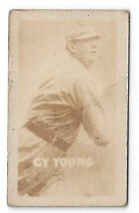 1948 Cy Young (HOF) Topps Magic Card