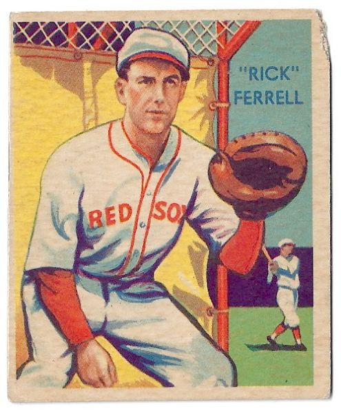 1935 Rick  Ferrell (HOF) Diamond Stars Baseball Card