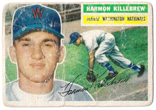 1956 Harmon Killebrew (HOF) Topps Baseball Card