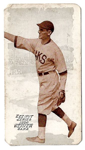 1920 Zee-Nut (PCL) Baseball Card