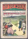 1906 Tip Top Baseball Themed Pulp Fiction