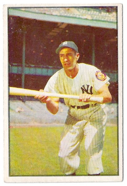 1953 Phil Rizzuto (HOF)  Bowman Color Baseball Card