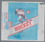 1954-55 Topps 5 Cent Hockey Wrapper - Extremely Rare