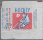 1957-58 Topps Hockey Wrapper