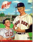 1958 Boston Red Sox Official Yearbook