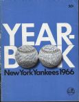 1966 New York Yankees Official Yearbook