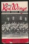1965 Detroit Red Wings (NHL) Old Timers Day Hockey Program