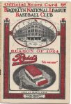 1924 Brooklyn Dodgers Official Program vs. Pittsburgh Pirates